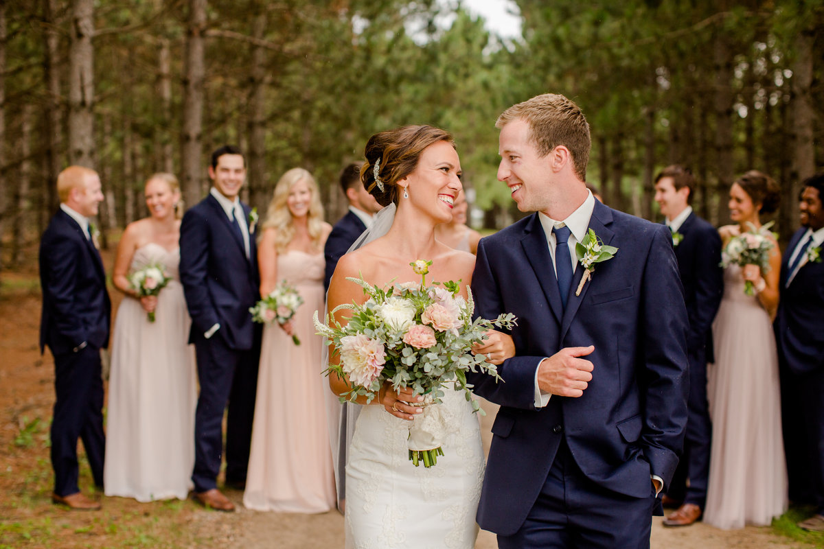 Thumper Pond summer wedding day