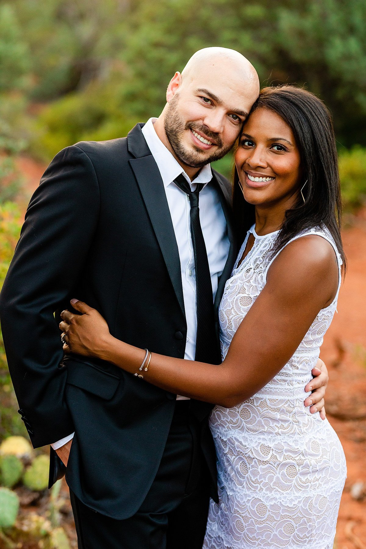 Monica + Austin - Sedona Engagement Session - Cathedral Rock - Lunabear Studios_0205