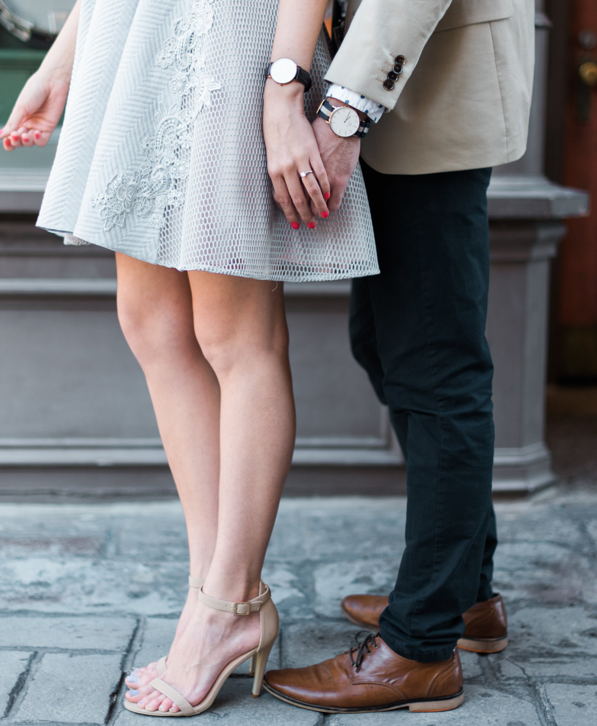 Harry Potter World Engagement photos Daniel  Wellington