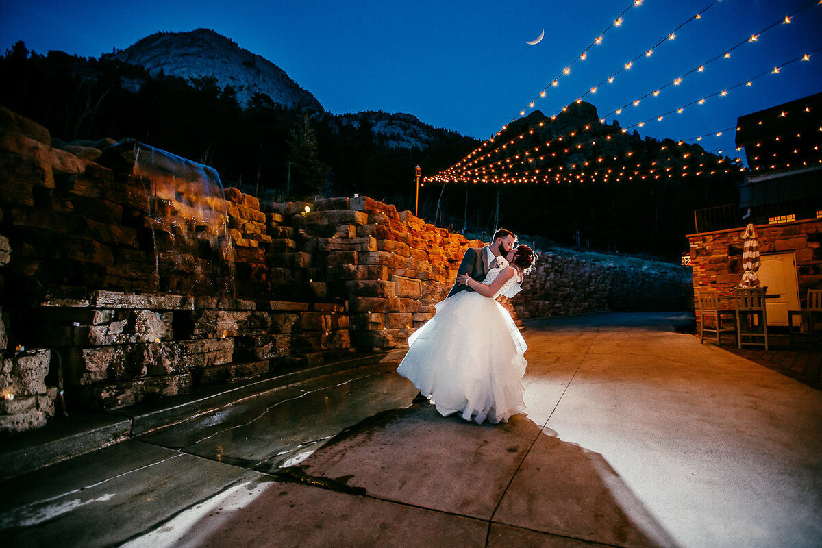 princess wedding at della terra mountain chateau