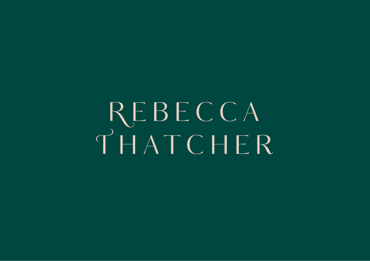 Rebecca Thatcher Logo | Facebook Ads Coach Logo