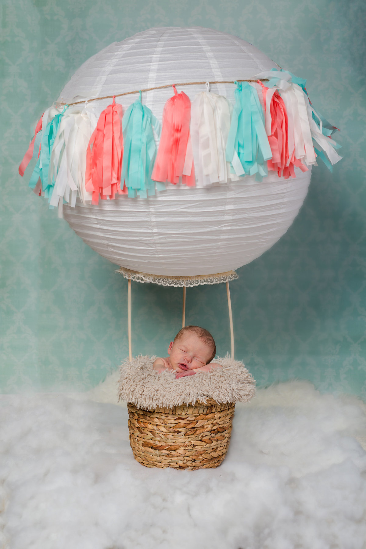 creative ideas for newborn photos