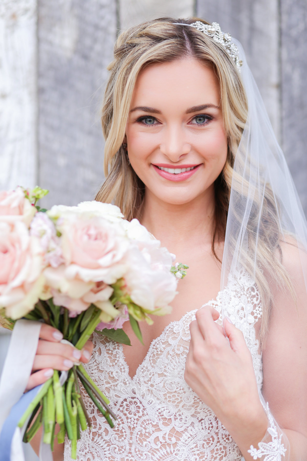 Blonde Bride - KC Wedding Photographer