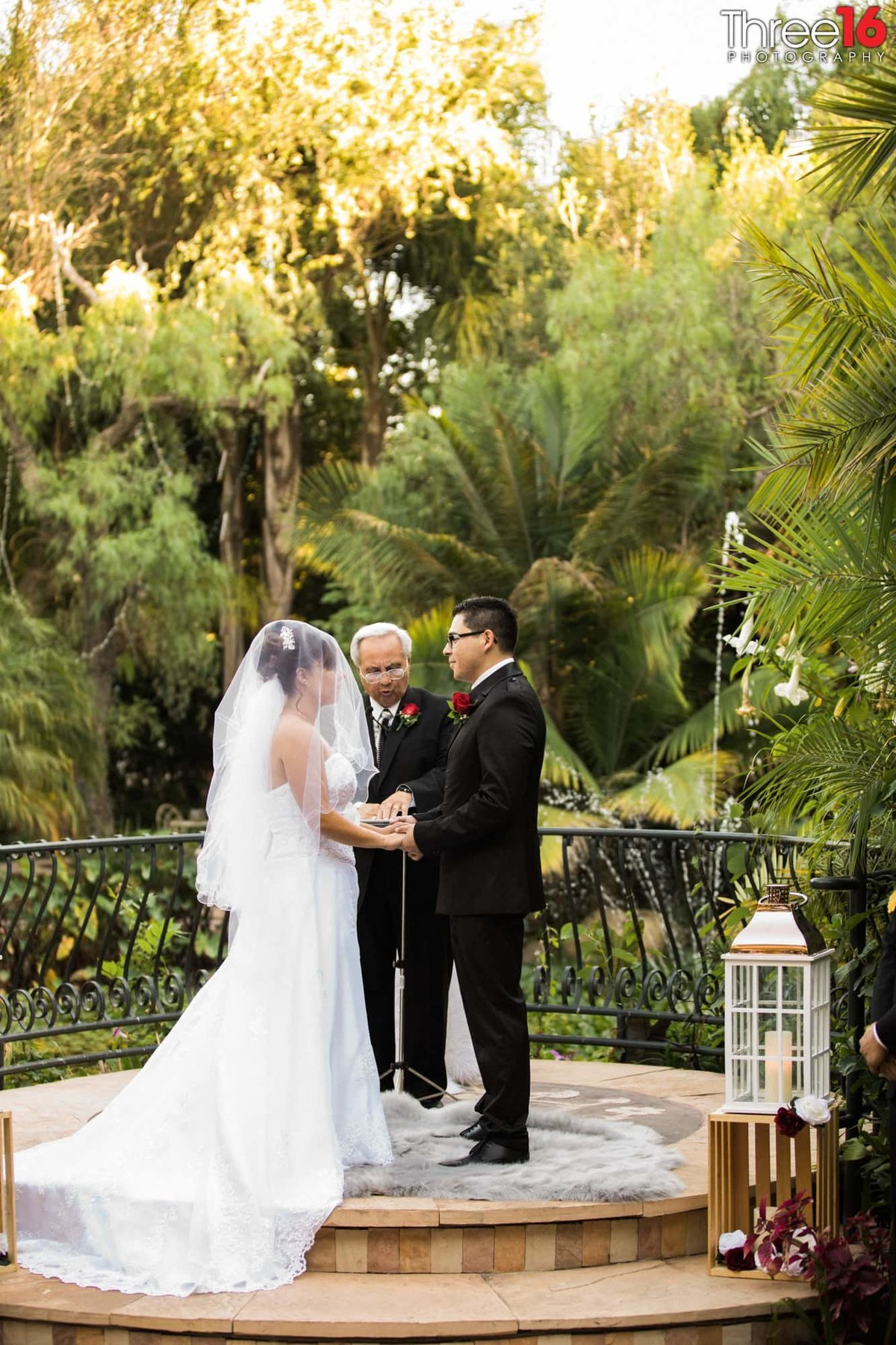 garden wedding in los angeles