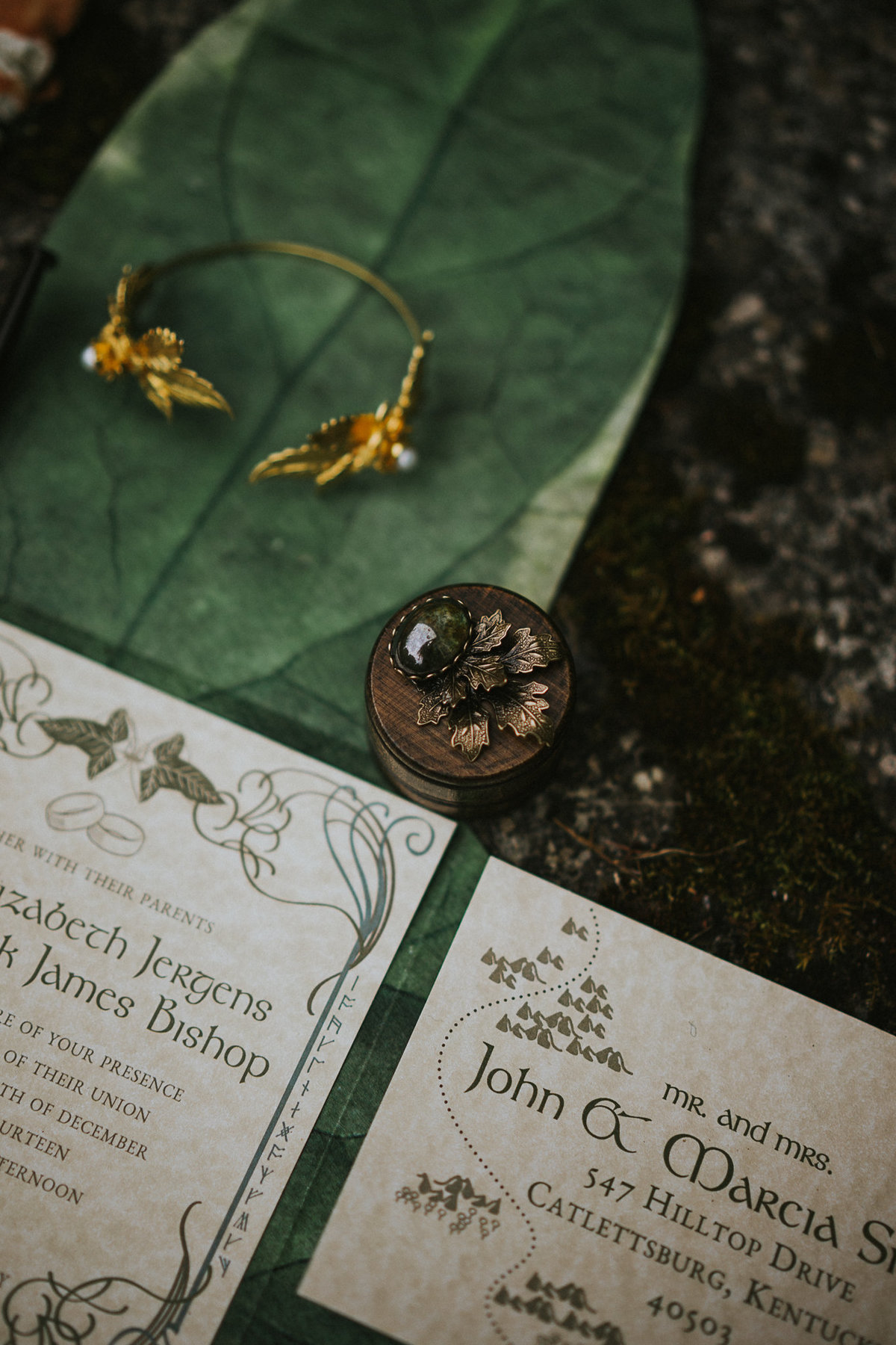 Ireland Forest Fairy Elven Elopement web-19