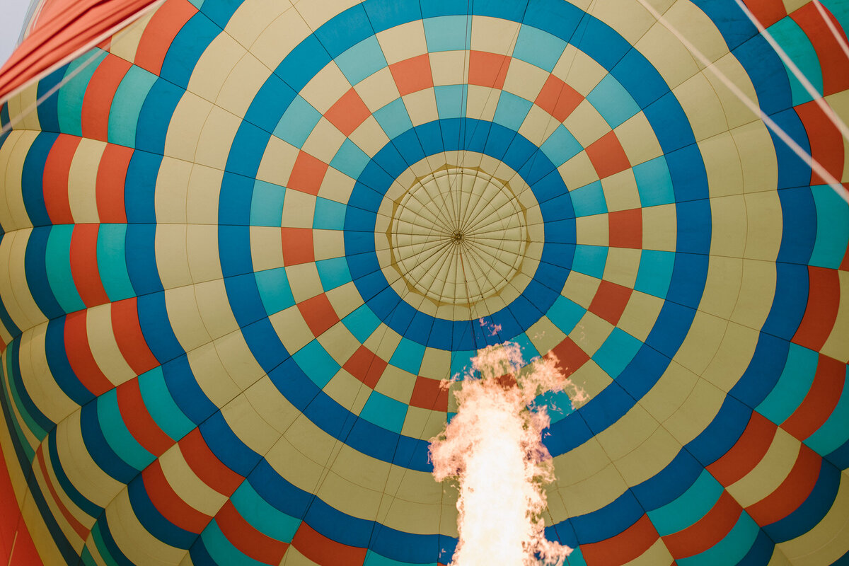 Hot Air Balloon Elopement Marie Monforte Photography-170