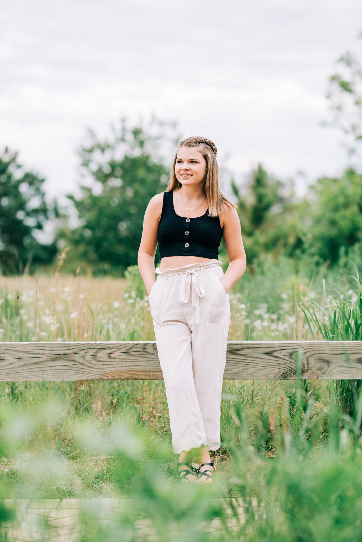 Delaney June Senior Portraits 2020 Leah Baggett Photography Pleasure House P-3