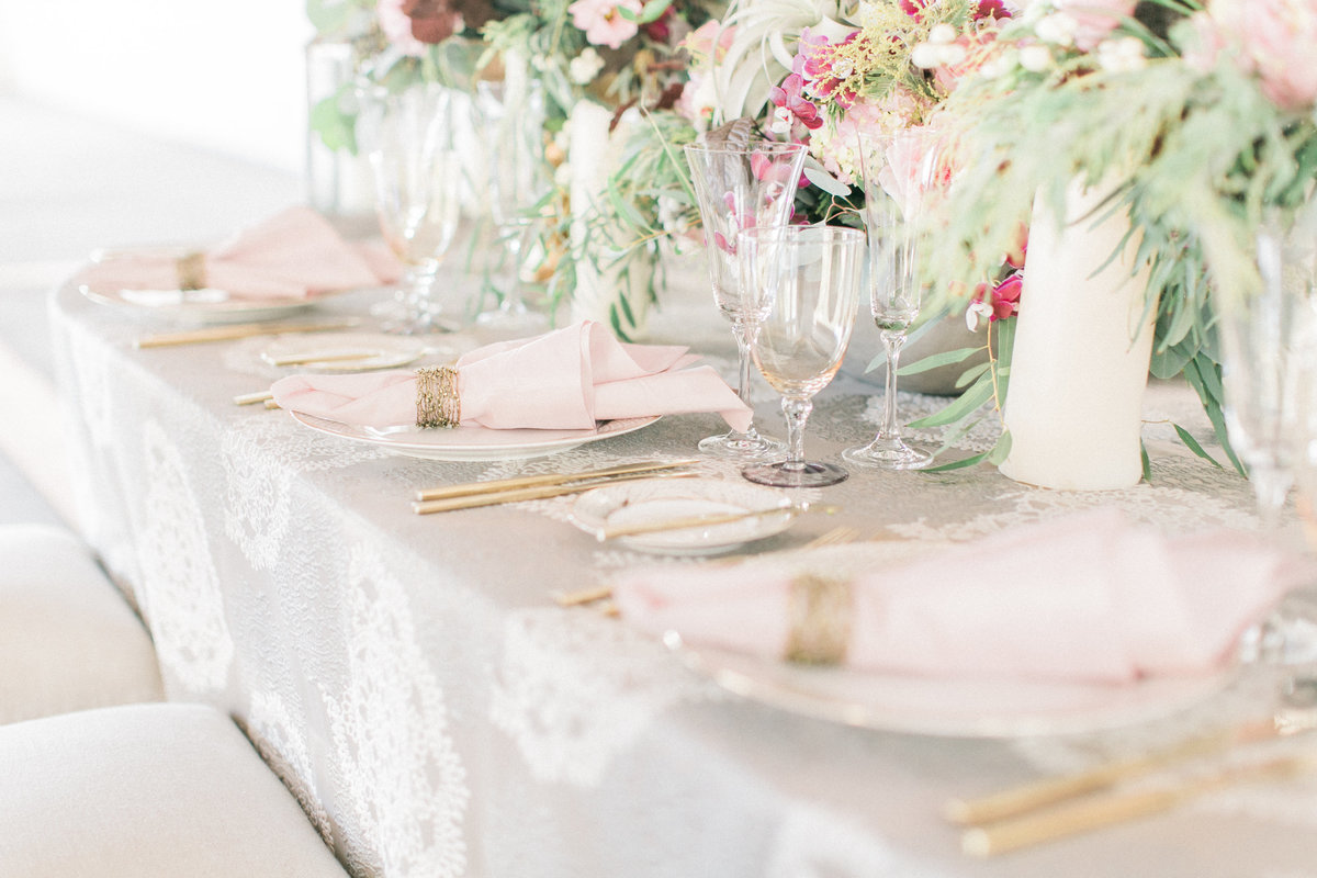 Silk Brocade Table Linen Spring Weddingdecor