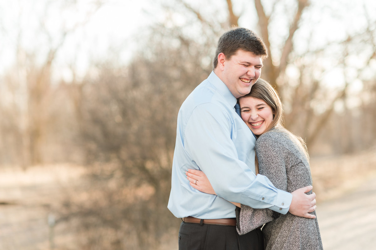 20190302 - Jannae and Forest Engagement Session 017-Edit - A Winter Reid Merrill Park Engagement Session