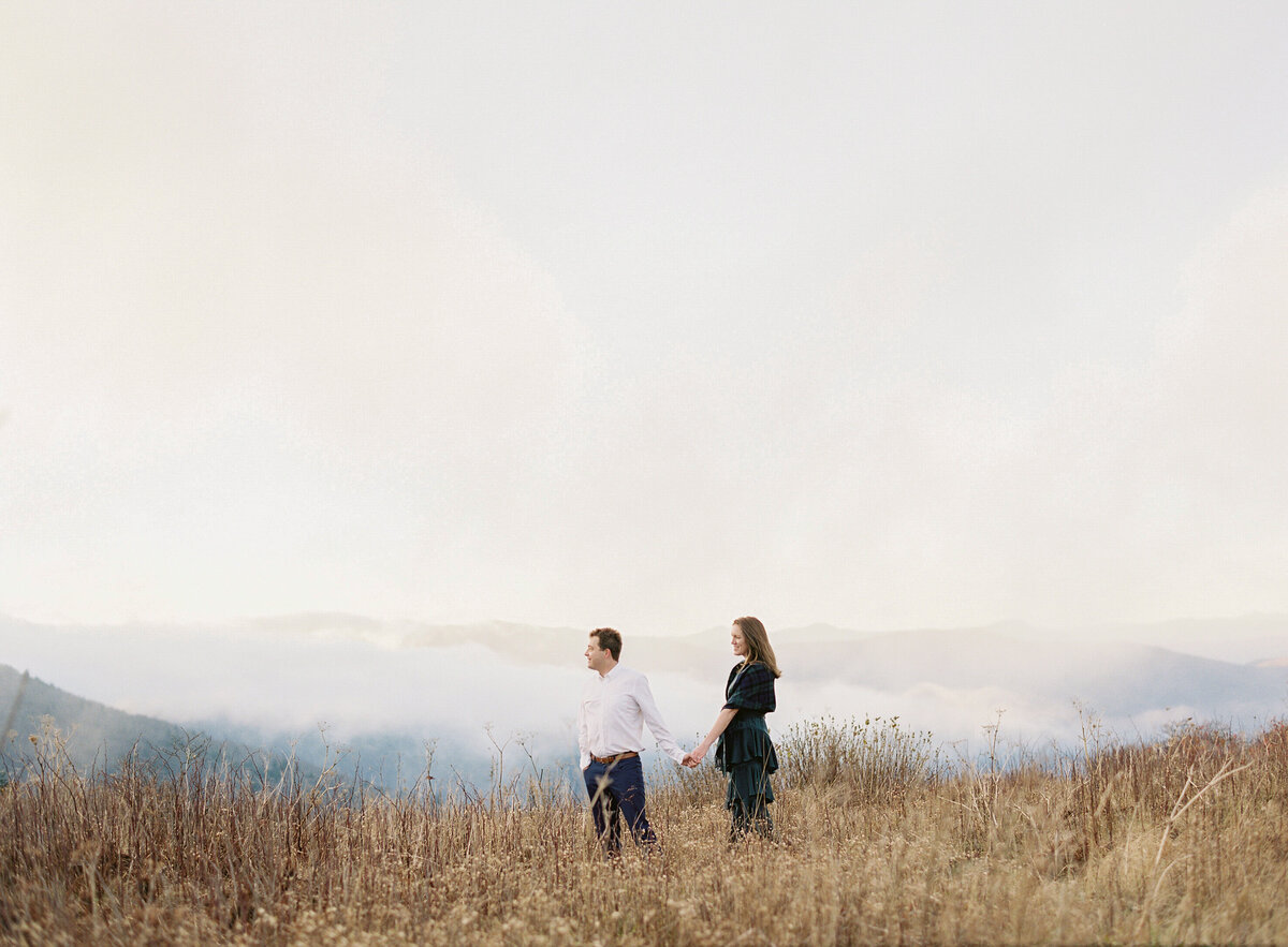 Asheville North Carolina Wedding Enagagement Photographer Blue Ridge Parkway Session-47
