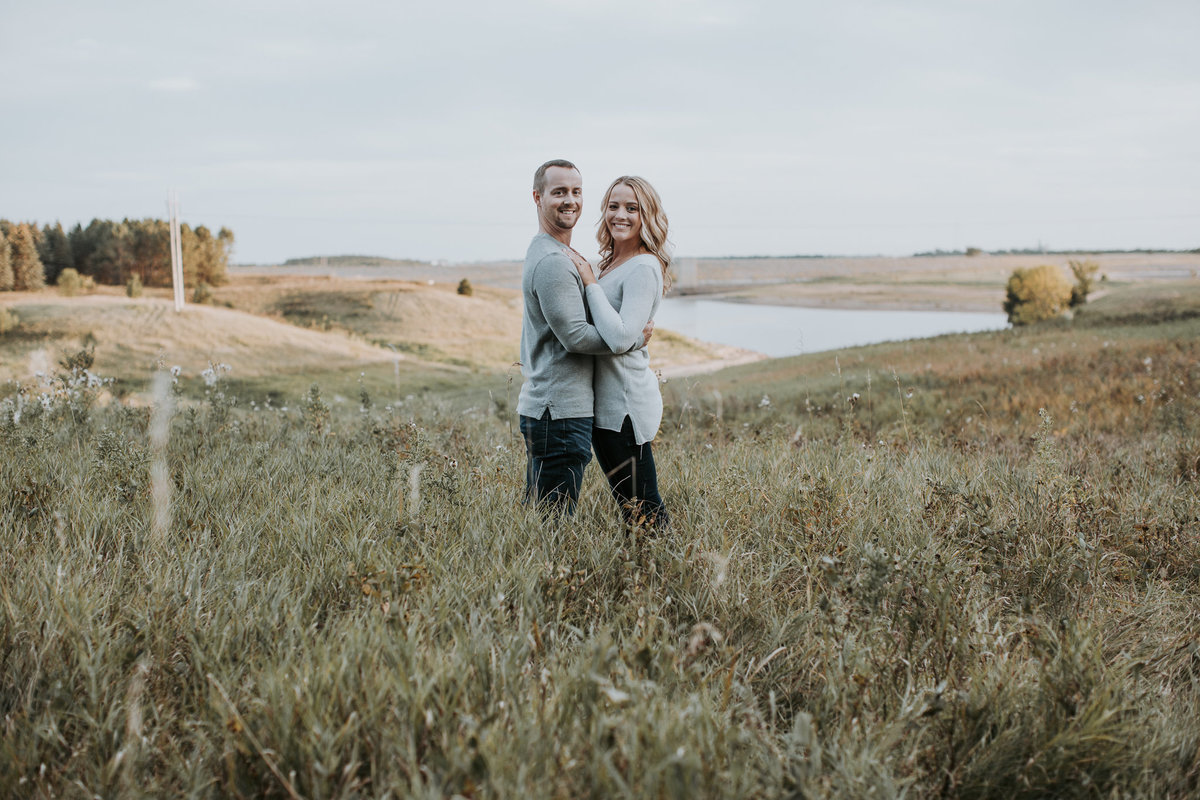 Montana couples photography engagement session