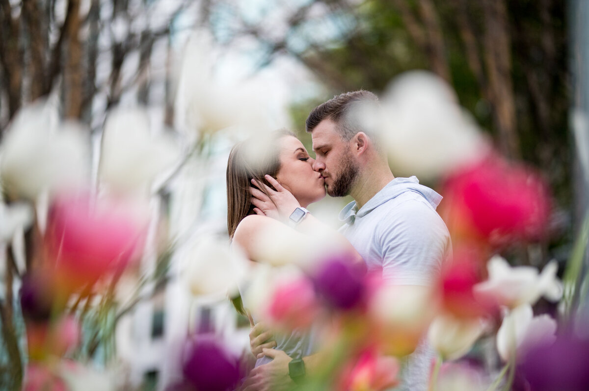 engagement-shoot-flowers-charlotte