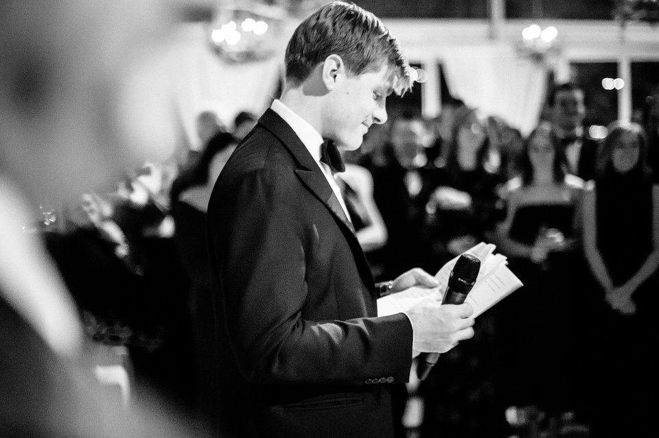 black and white reception photos greenwich wedding