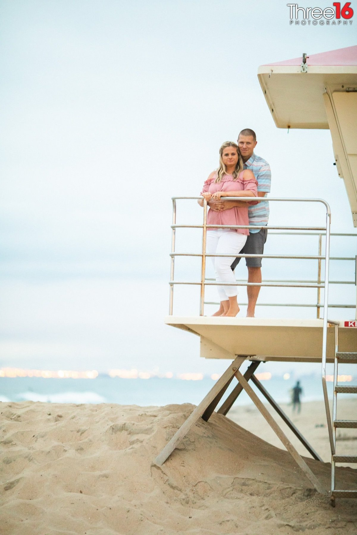Huntington Beach Pier Engagement Professional Photography