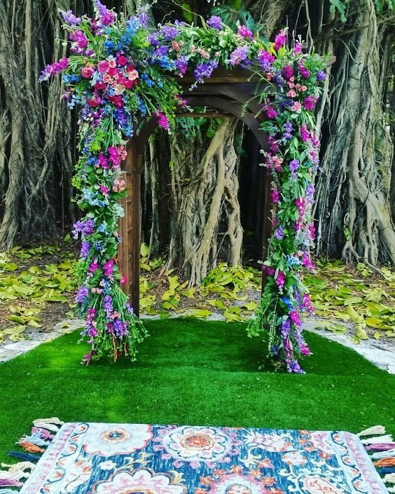 Boho Chic Ceremony