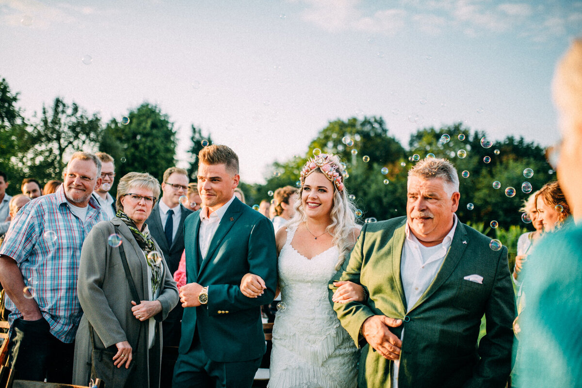Bruiloft Marlous & Michael - Pink Wedding - Te Leuk Trouwen- Romy Dermout Photography-631