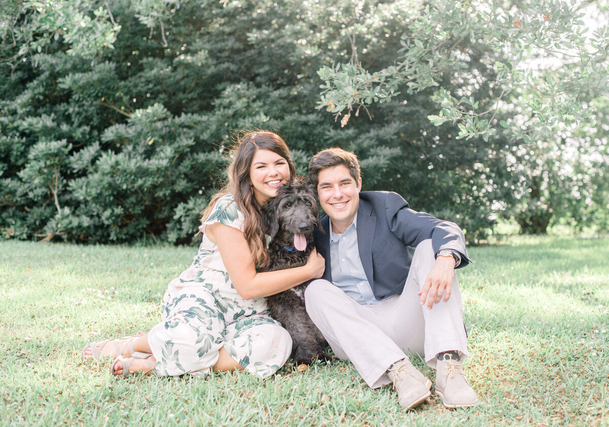 Sweet Arsenal Park Engagement Session Featuring a Dog-2