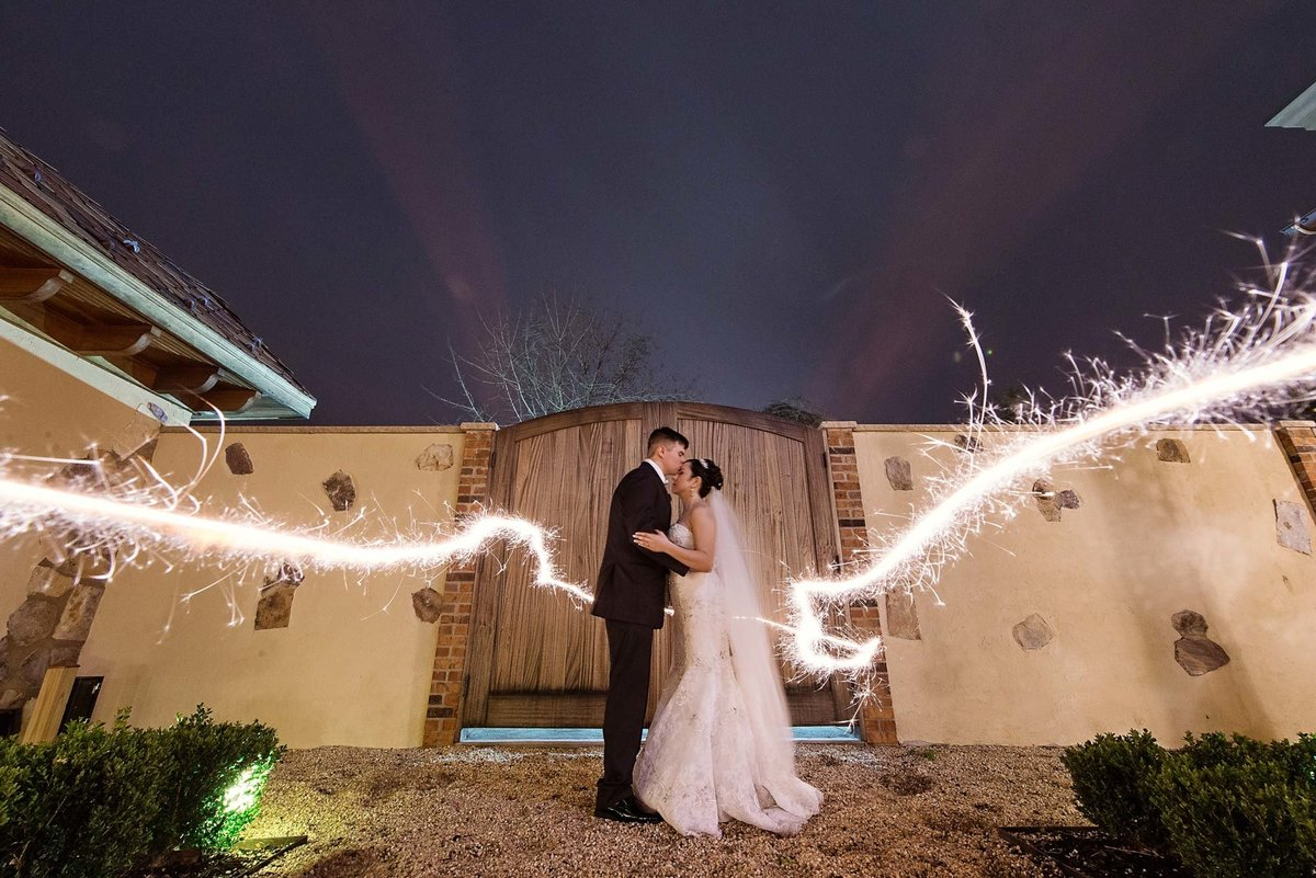 Larkfield Manor sparkler photo