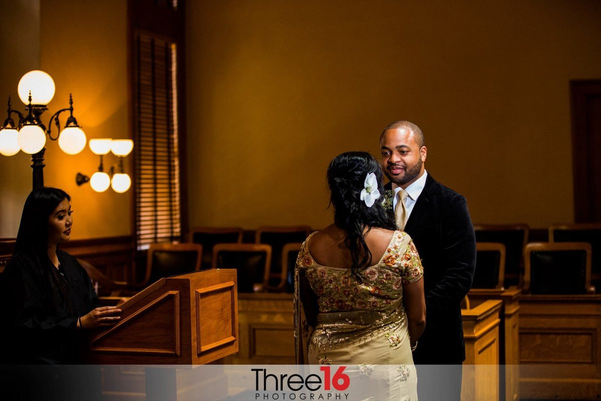 Old Orange County Courthouse Wedding