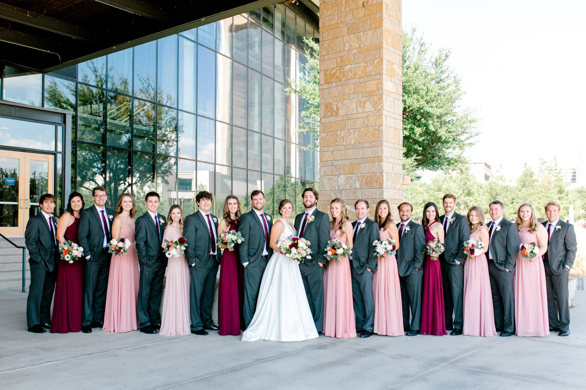 Kaylee & Michael's Wedding at Watermark Community Church | Dallas Wedding Photographer | Sami Kathryn Photography-89