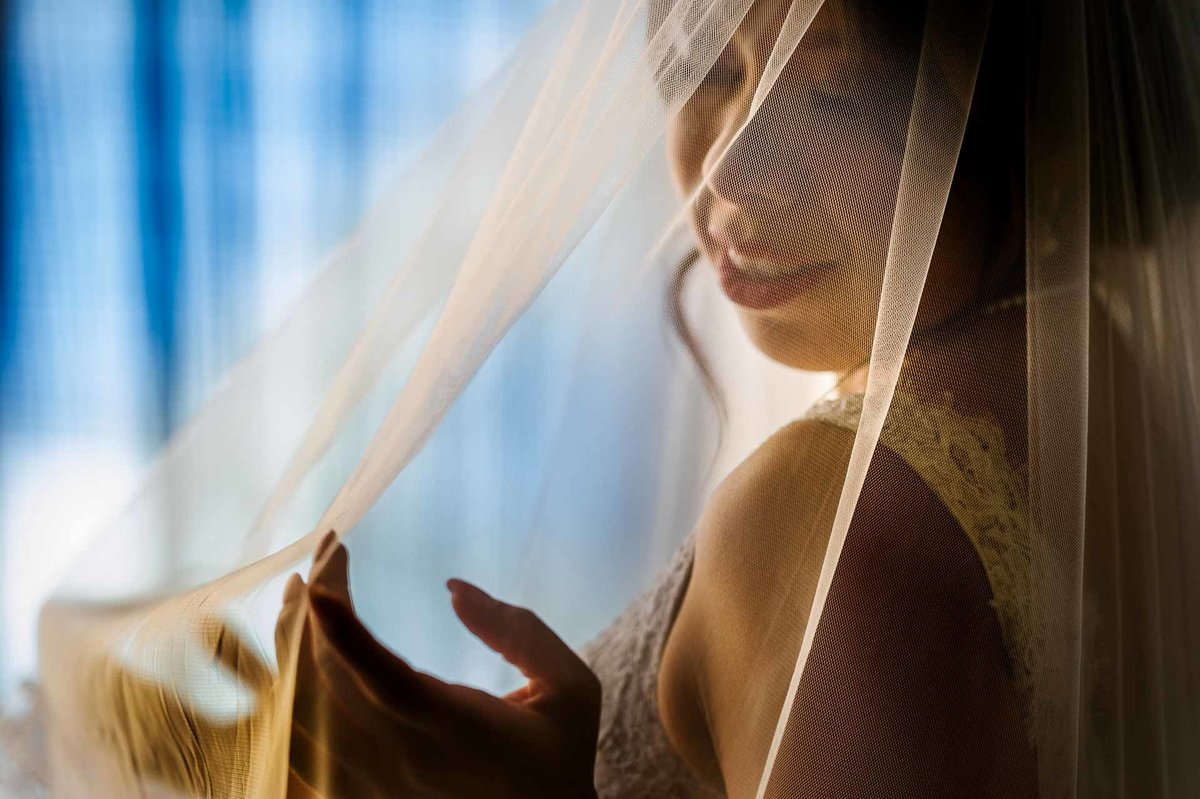 bride's veil picture in el paso by stephane lemaire photography