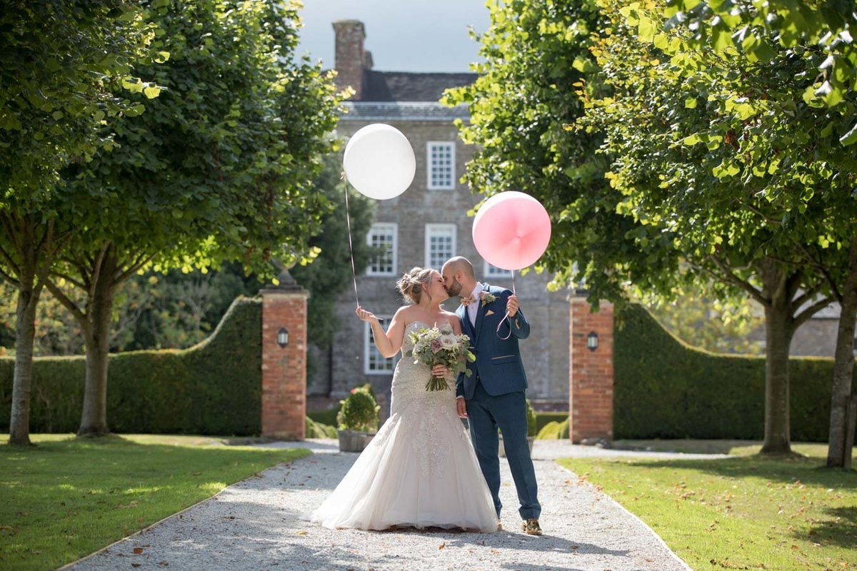 Wedding photography at Kingston Estate in Devon