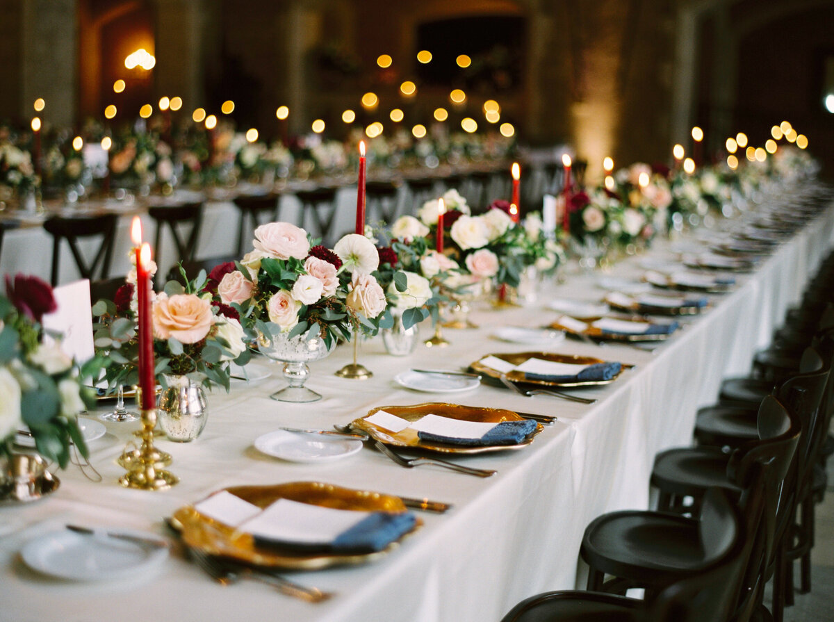 Banff Wedding Reception Inspiration