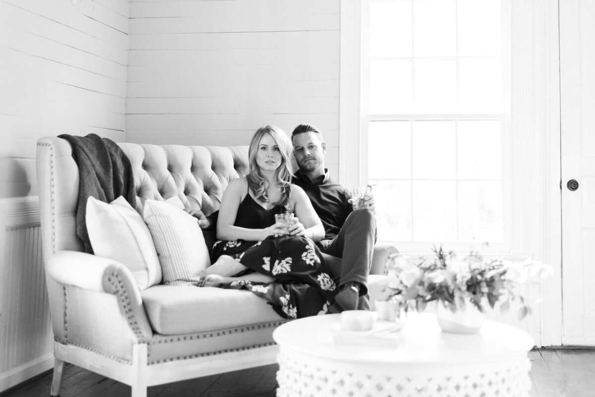 Engagement Photography at Mims House in Holly Springs, NC 7