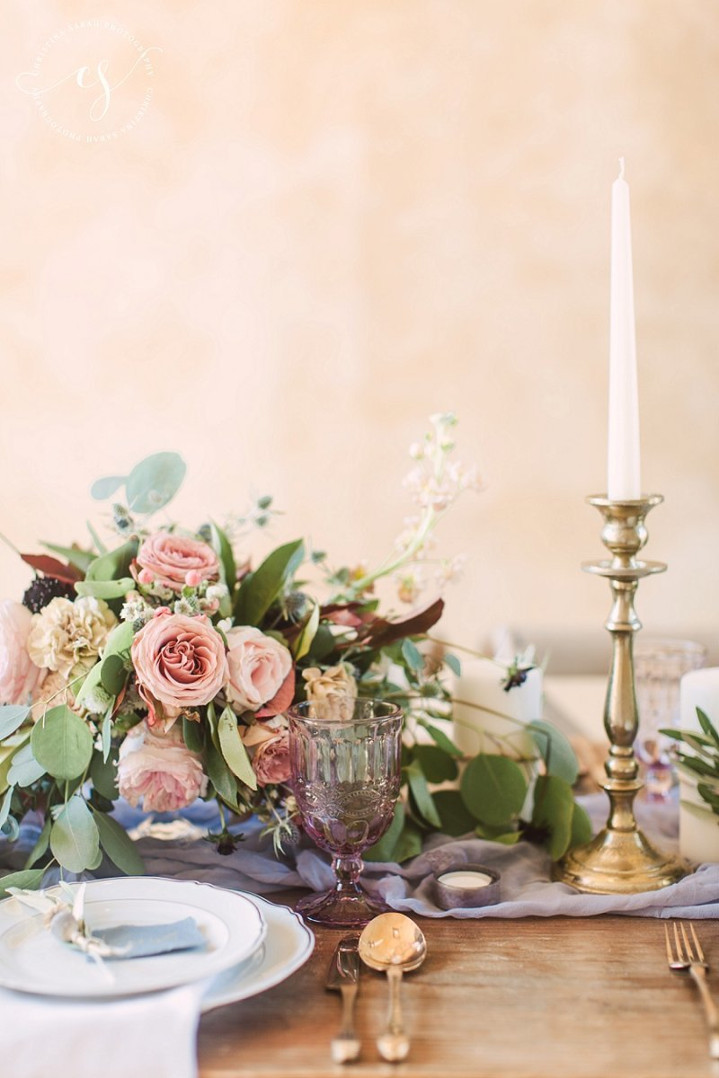 Rustic Italian Table Scape