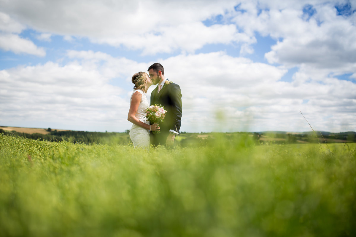 devon wedding at the oak barn