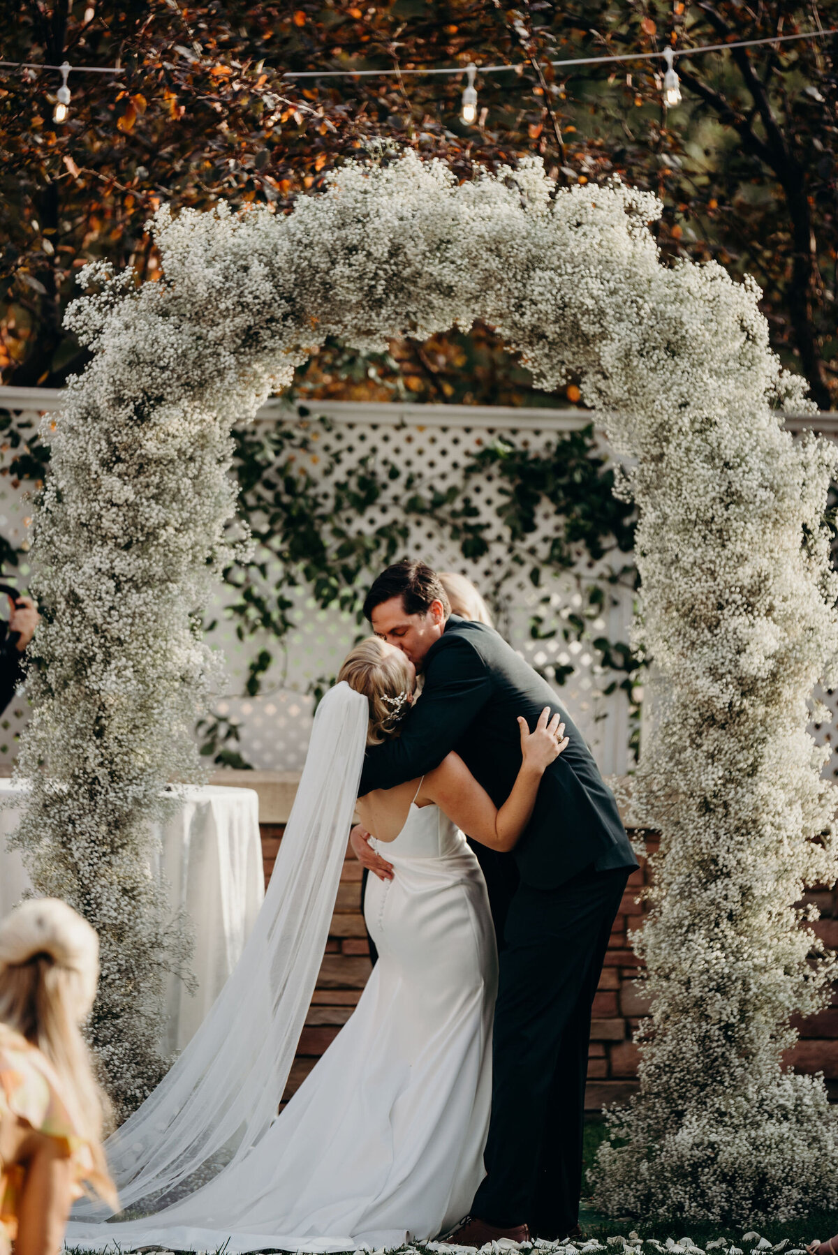 St, Julien Hotel, Boulder Wedding, Allison Dobbs, Baby's Breath Arch, Colorado Florist, Denver Florist, Boulder Wedding Florist
