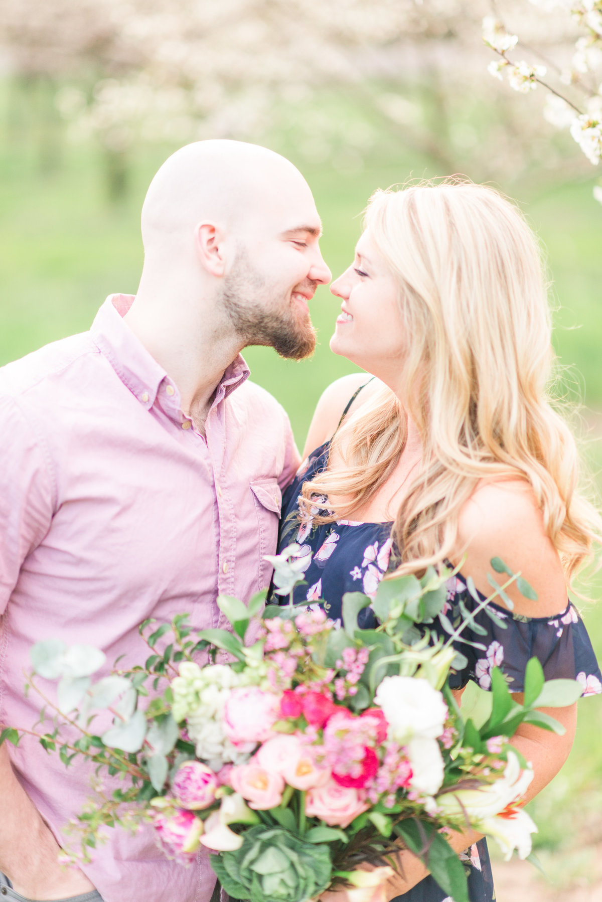 summer engagement photographer