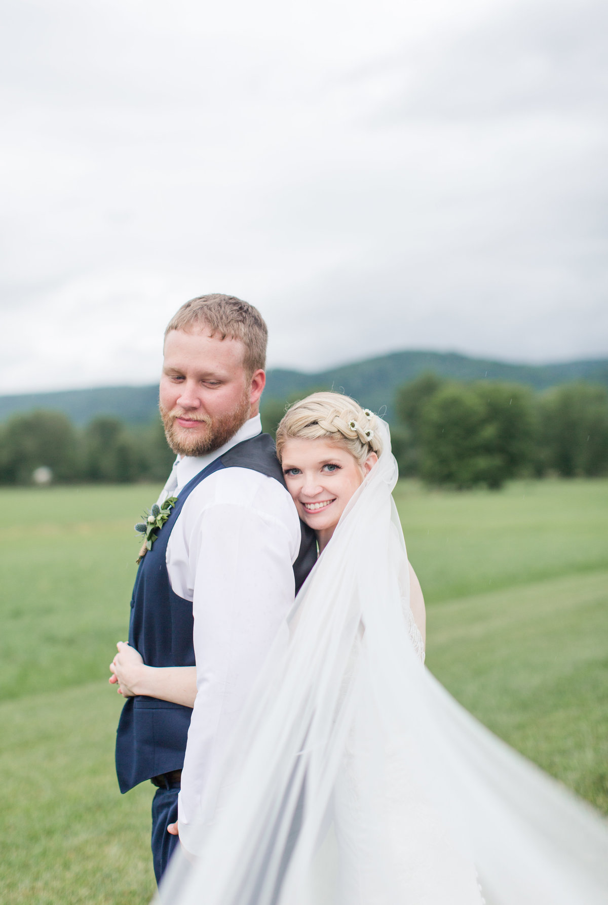 Shades of Blue Rustic Barn Virginia Wedding-137