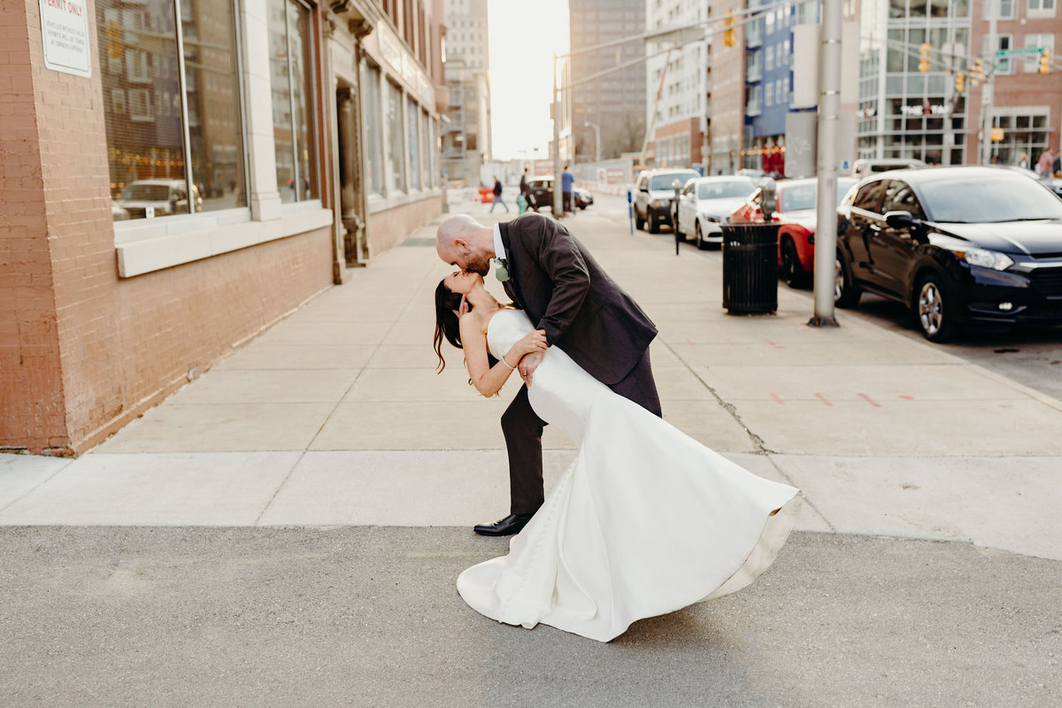 Downtown Indianapolis VisionLoft Events Wedding