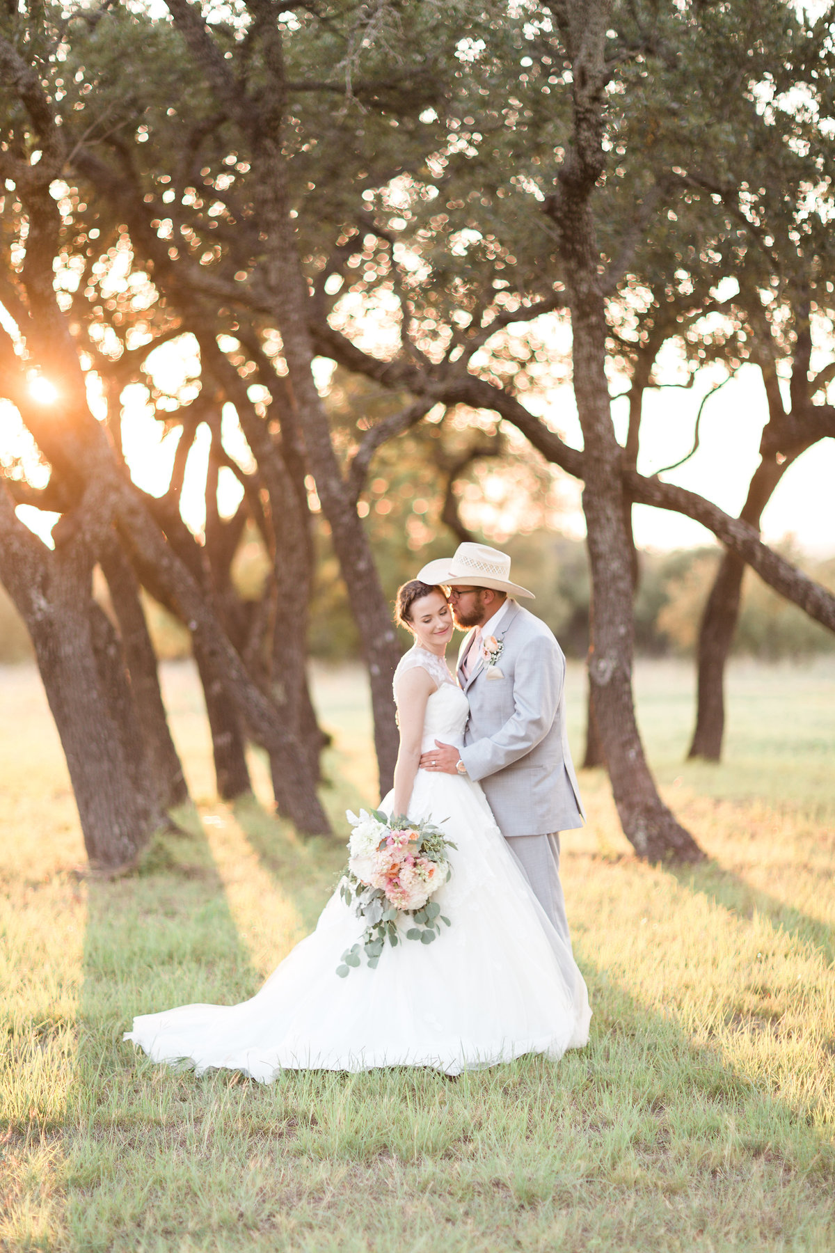 Kairos Celebration Barn Wedding SunsetPortrait