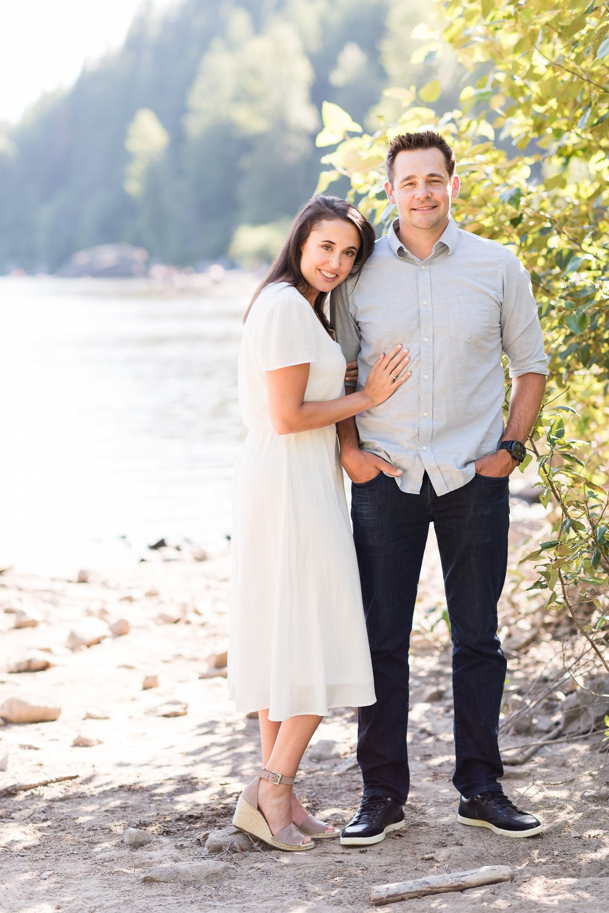 Rattlesnake Lake Engagement Session - 08