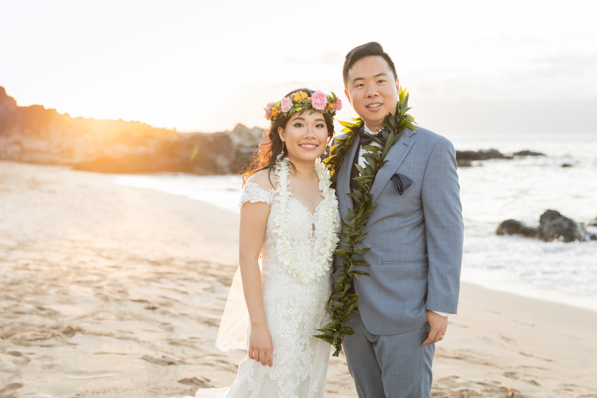 Maui wedding photography couple