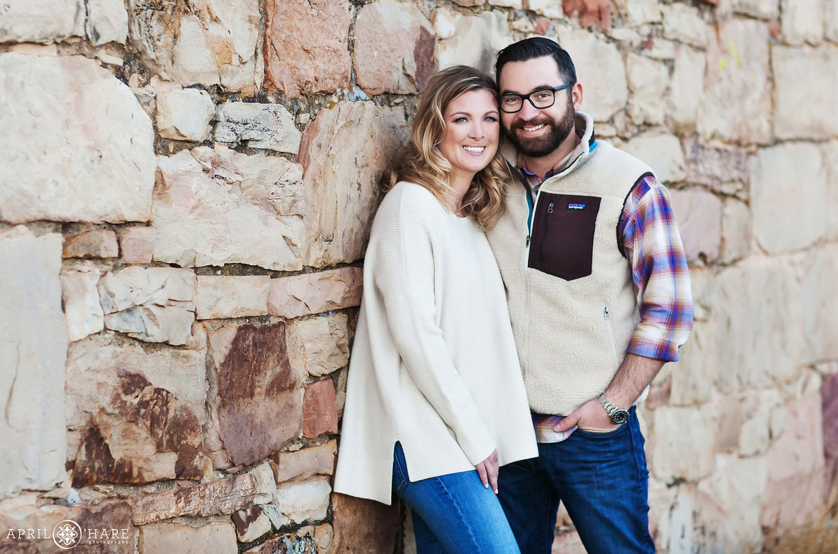 South Mesa Trail Boulder Colorado Engagement Photography