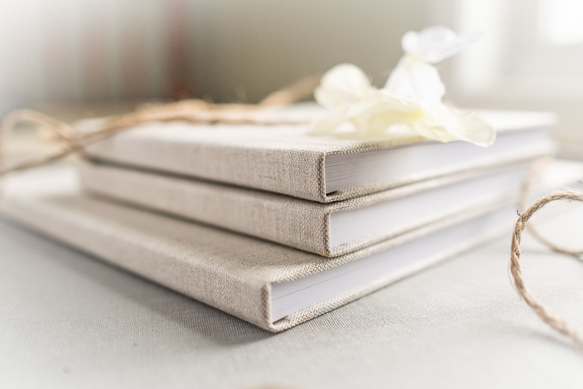 Linen Photo Books-3