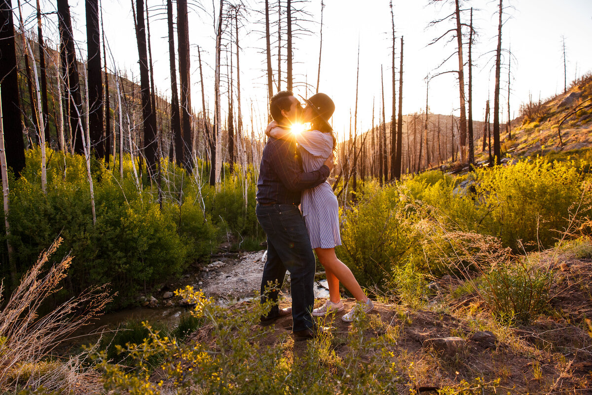Big Bear Mountain Engagement Session