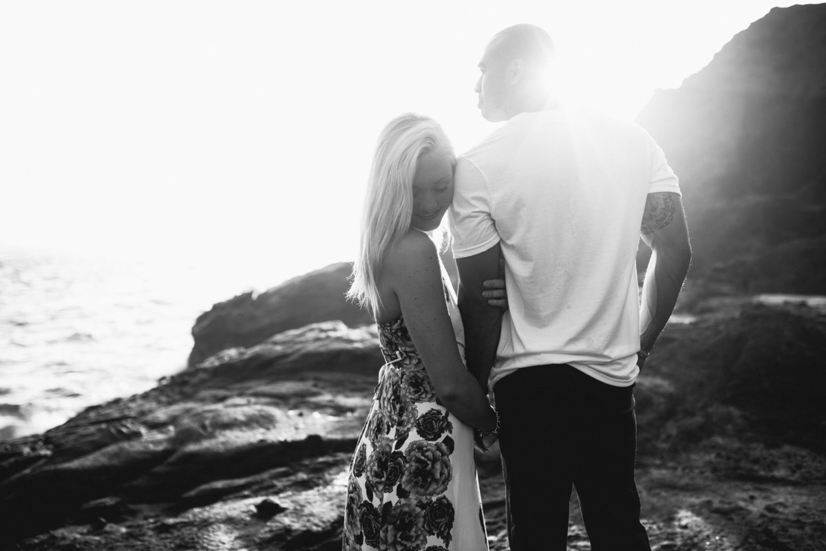 Eternity Beach Honolulu Hawaii Destination Engagement Session - 36