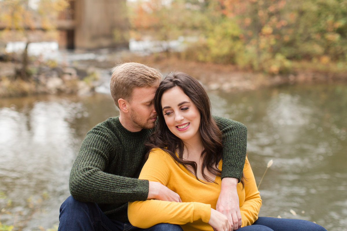 fall engagement pictures in richmond, va