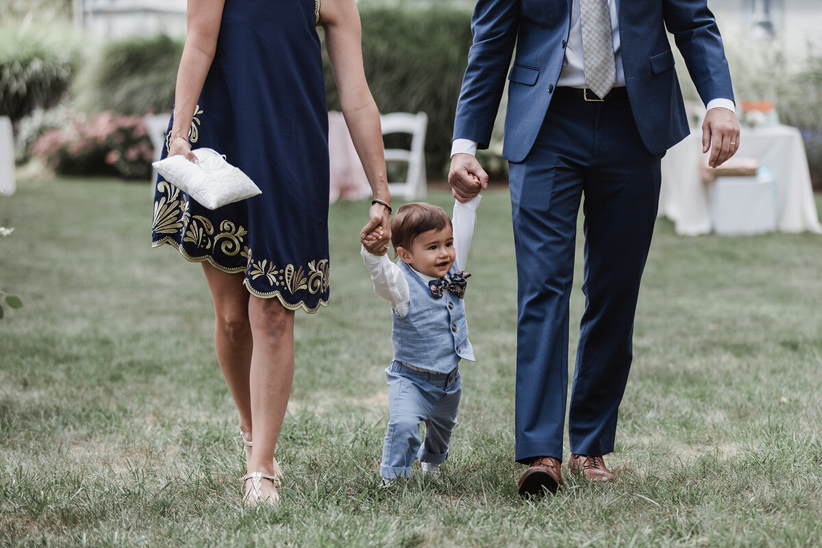 Cute Ring Bearer Wedding at Mount Crescent