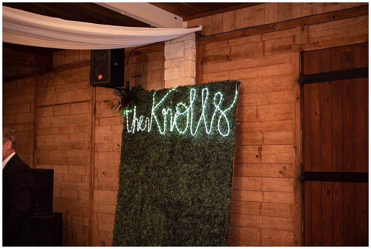 Rustic Greenery Indoor Outdoor Wedding at Emery's Buffalo Creek - Houston Wedding Venue_0144