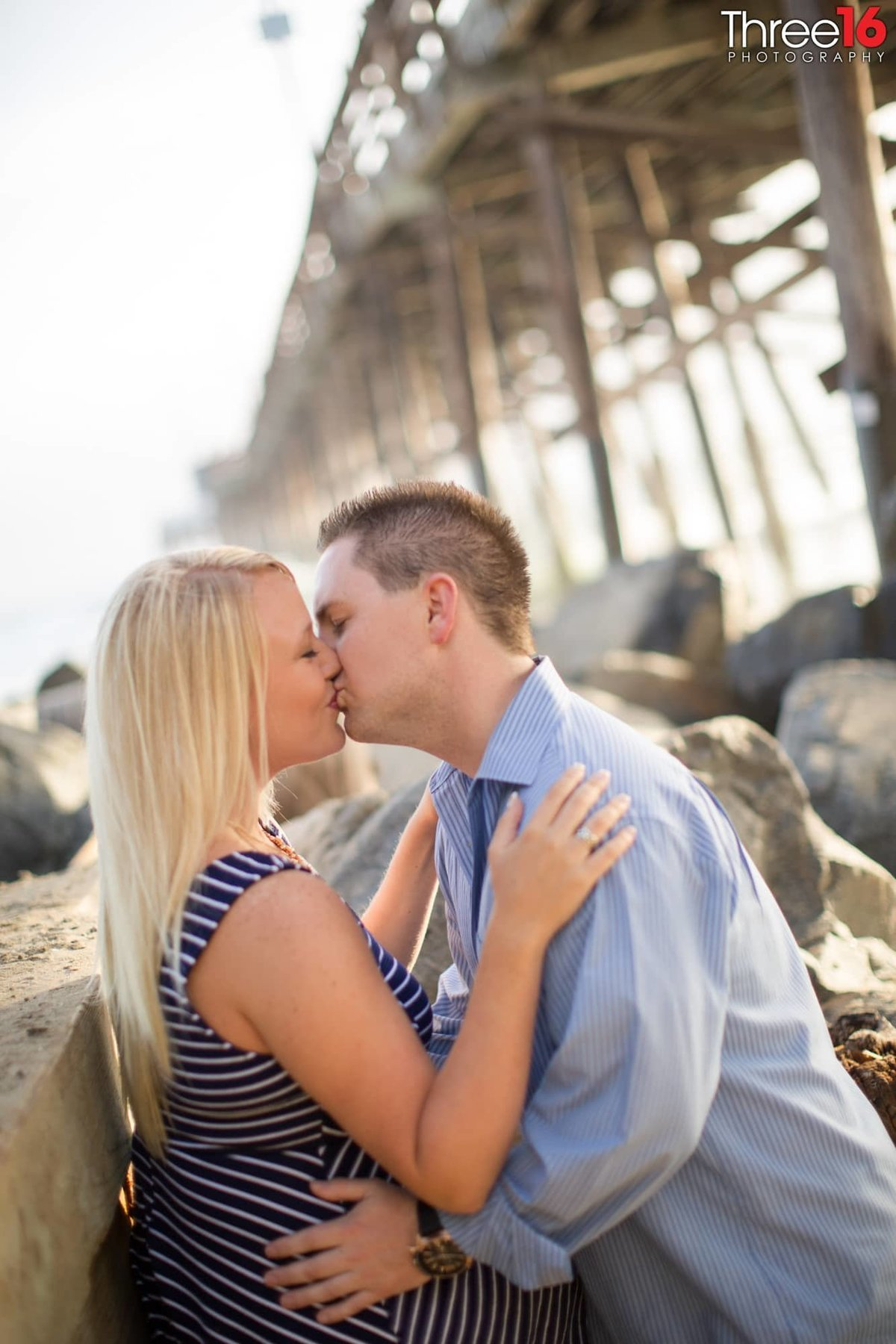 Newport Beach Pier Engagement Photos Orange County Newport Beach Weddings Professional