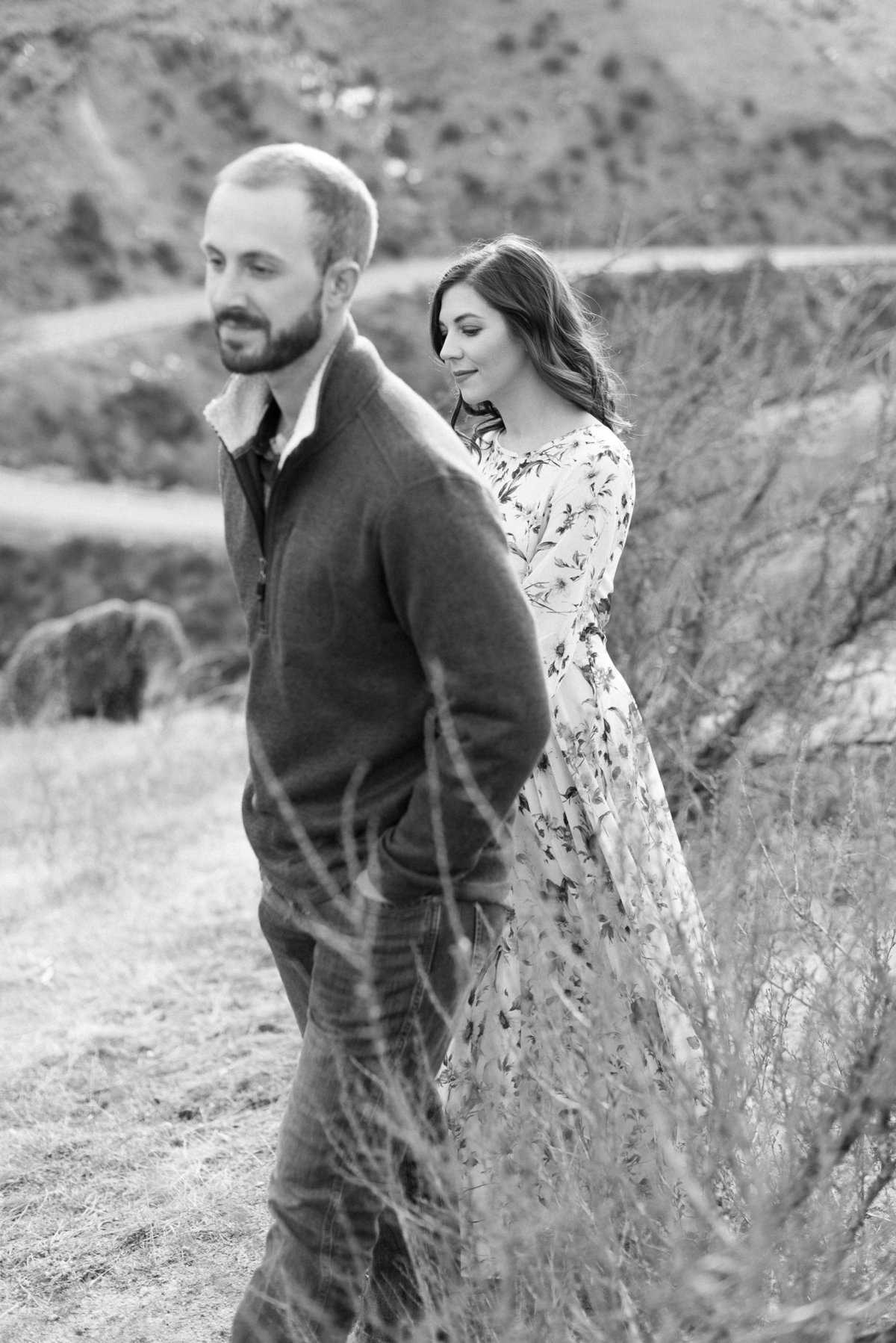 A  Winter Bogus Basin Engagement Shoot 007