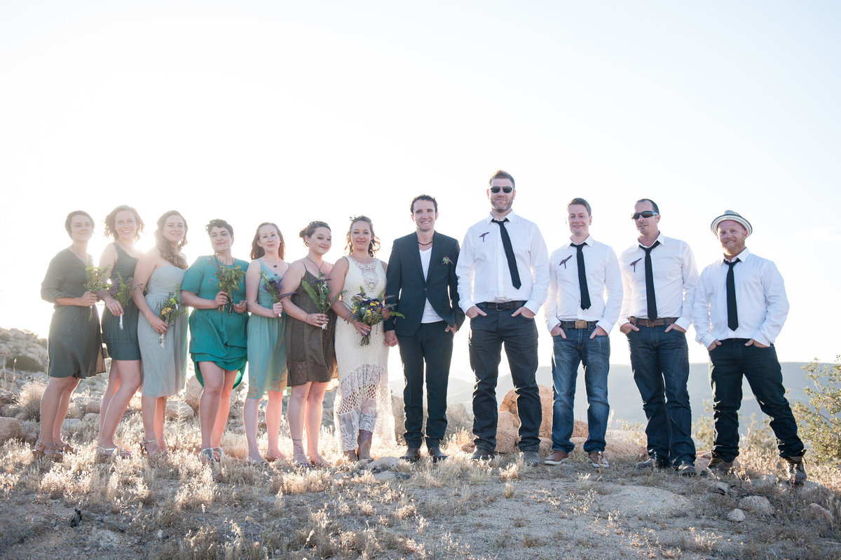 Destination Wedding Photography Joshua Tree Wedding Photography Le Haut Desert Aerie074