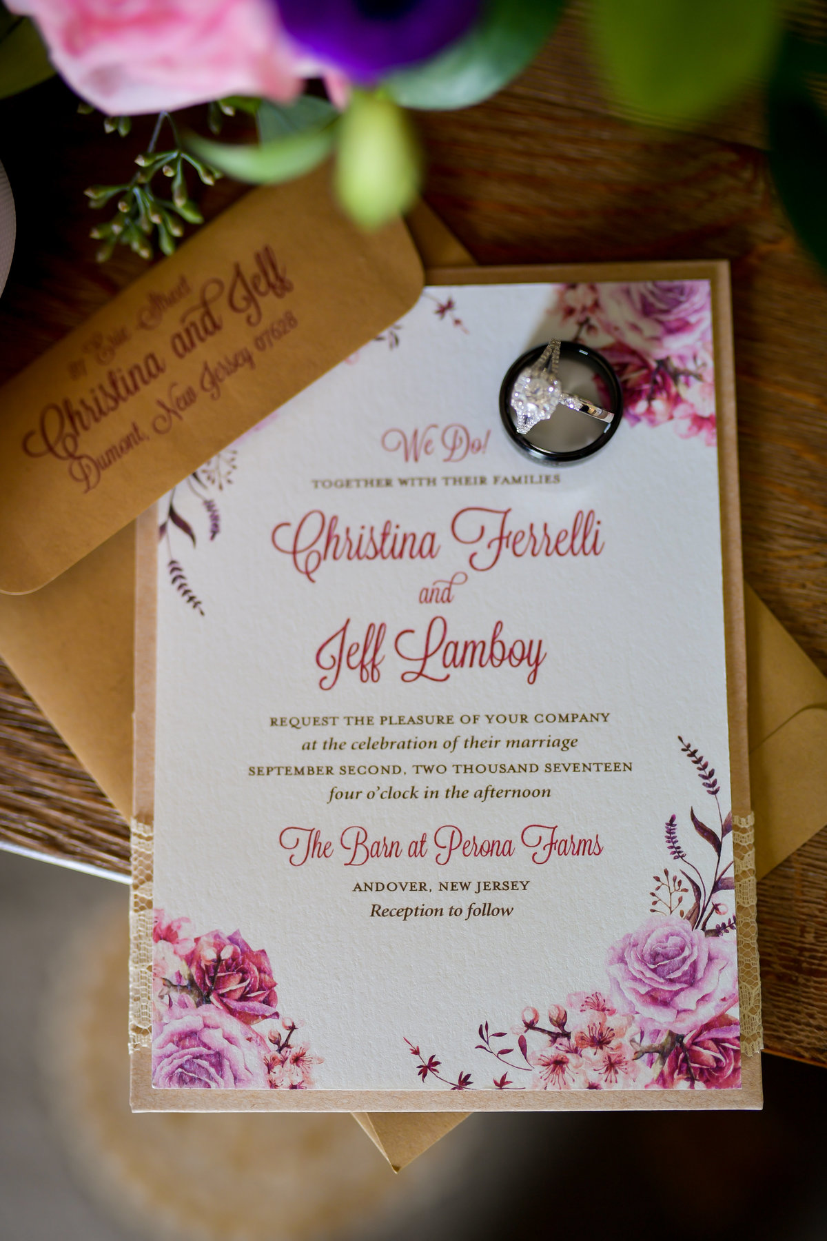 Perona Farms Barn NJ Wedding Planner
