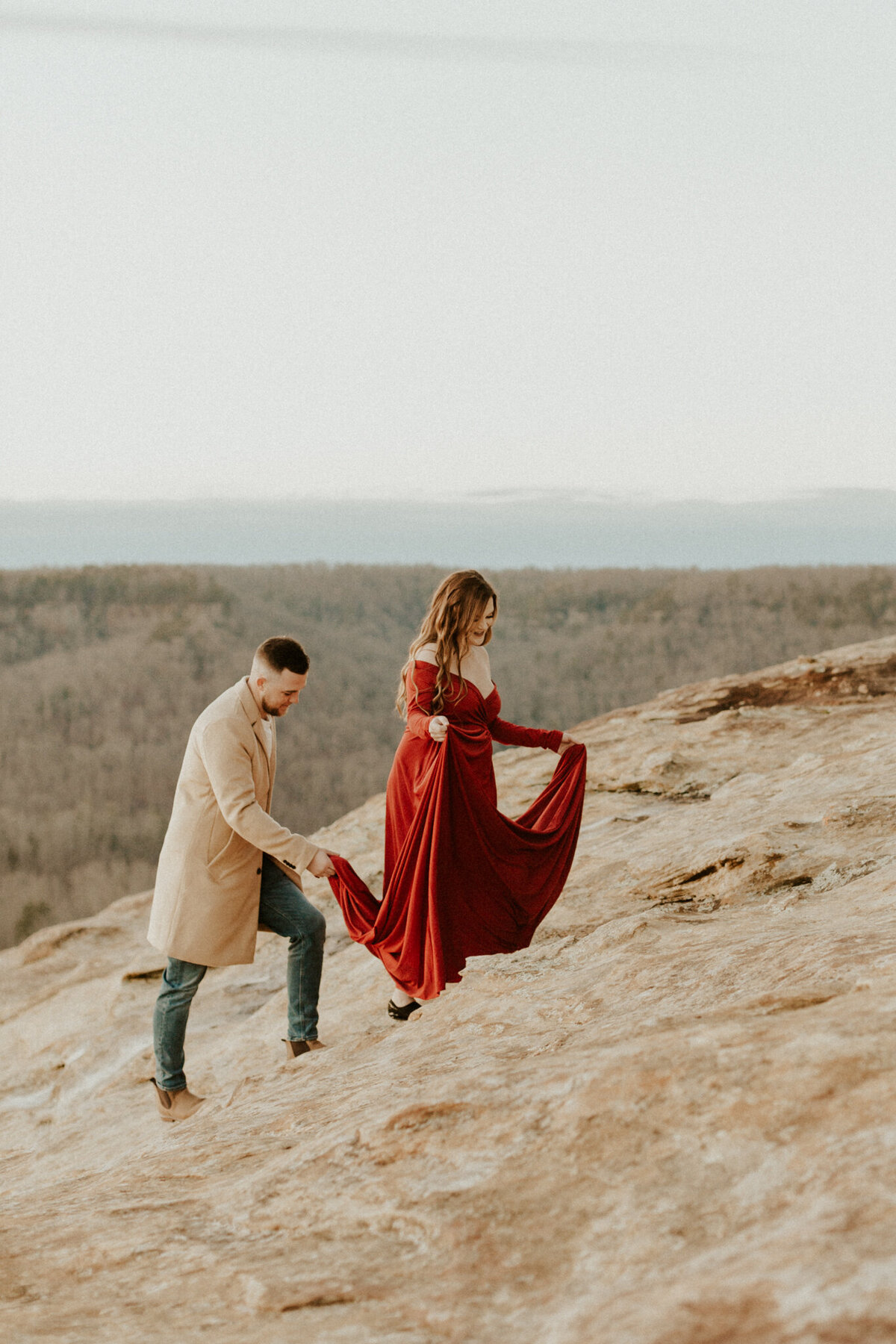 Red-River-Gorge-Kentucky-Adventurous-Couples-Session_Maternity-Photos_Kentucky-Photographer_Anna-Ray-Photography-146
