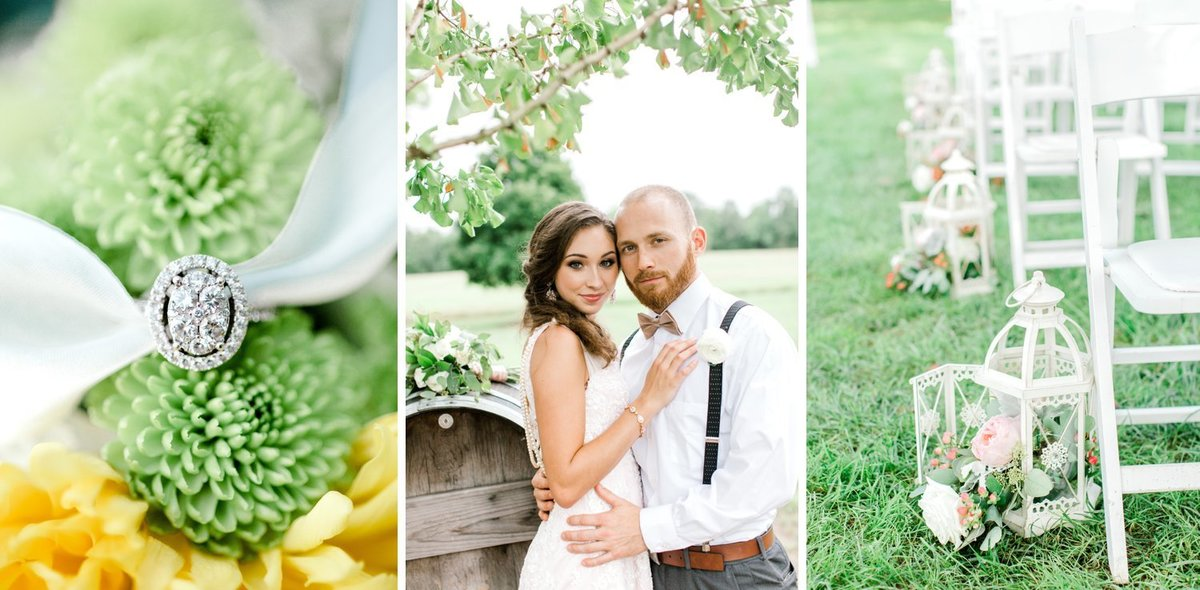Blush and Greenery Styled Shoot at Burlington Plantation Weddings & Events in Charles City, Virginia